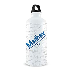 Me Graffiti Bottle - Madhav