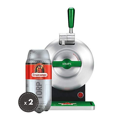 Heineken Pack THE SUB | Barrel beer handle THE SUB Heineken Edition + 2 TORP Cruzcampo Special barrel of beer of 2 liters