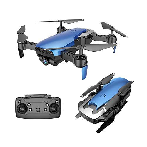 Kingko® X12S 2,4 Ghz 4CH Weitwinkel WiFi 720 P Drohne Optischer Fluss Positionierung RC Quadcopter Sechs Achsen Gyroskop Folding Drohne, Ein Schlüssel Start/Landung (blau)