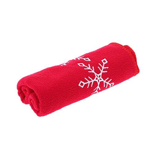 Anself Weihnachten Handtuch Originalität Handtuch für Weihnachtsgeschenk Candy-Stil