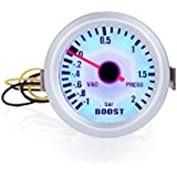 KKmoon Turbo Boost Vacuum Press Gauge Meter for Auto Car 2 52 mm de 1~