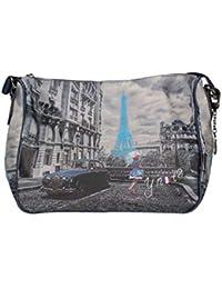 YNOT BORSA DONNA SHOULDER BAG K-370 1bcae662acb