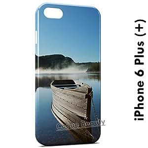 Coque Etui iPhone 6 plus (+) Barque & Nature 2 étui Housse Case Cover Protection