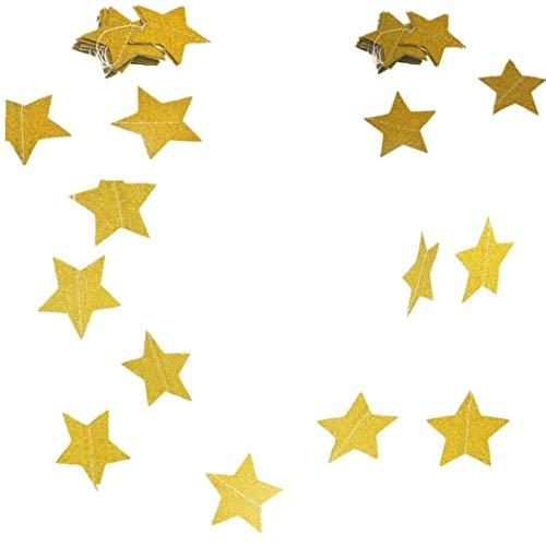 AMOYER 2ST Stern Hängende Dekoration Wandbehang Papierstern Garlands Für Geburtstag Hochzeit Banner Handgemachte Kind-Raum Wohnkultur