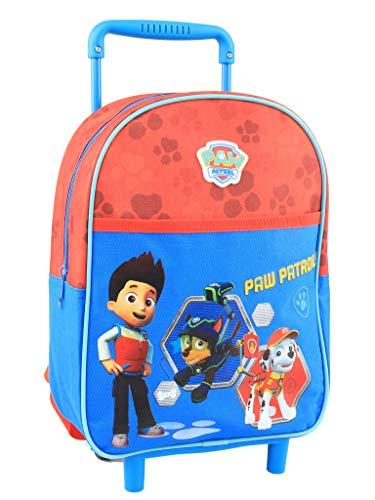 sans marque 822783 - Bolso con Ruedas, diseño de la Patrulla Canina, Color Azul