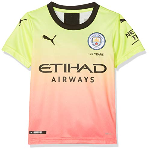 PUMA Manchester City FC Kids Replica Dodge Jersey