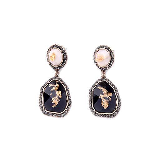 Vektenxi Premium Quality Elegant Retro Edelstein Ohrringe Weihnachtsschmuck Anhänger Accessoires Dekorative Geschenke (Dekorativen Weihnachtsschmuck)