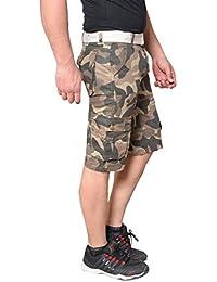 Krystle Boy's Multi Pocket Cotton Twill Cargo Army Shorts