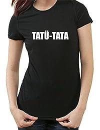 Tatü Tata Fun T-Shirt, Polizei Feuerwehr Notarzt Notruf, 112 110