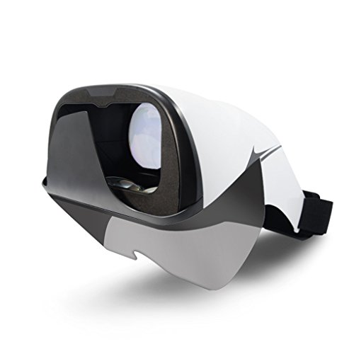 Babysbreath17 Auriculares de Realidad Virtual AR Gafas 3D Proyector Holográfico Pantalla Holográfica para Teléfonos Inteligentes