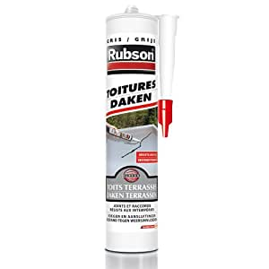 Rubson Mastic Toitures Gris 280 ml
