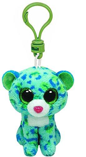 ty-ty33000-felpa-clip-de-beanie-boo-leona-el-leopardo-peluche-llavero-beanie-leopardo-10-cm-juguete-