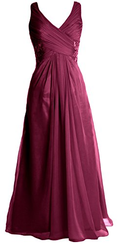MACloth - Robe - Femme Wine Red