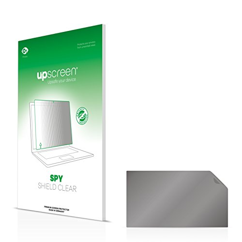upscreen HP EliteBook 8570p Blickschutzfolie Privacy Screen Sichtschutzfolie, Anti-Spy Displayschutzfolie