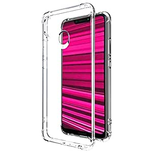 Amazon Brand - Solimo Honor Play Mobile Cover (Soft & Flexible Back case), Transparent