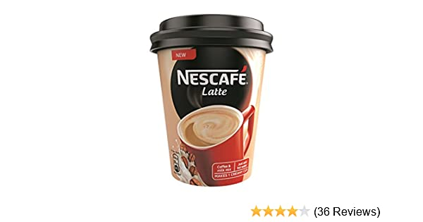 nescafe latte coffee pack of 6 25g amazon in grocery gourmet foods