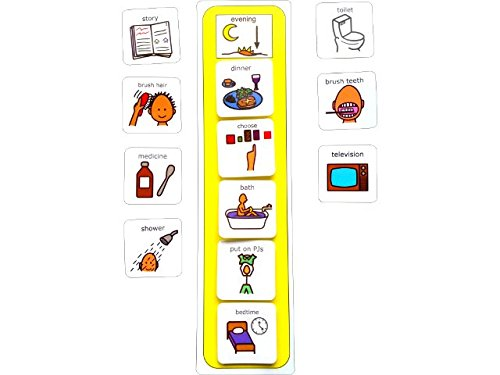 visual-evening-routine-aac-picture-communication-symbols