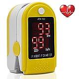 Henweit Pulsossimetro da cardiofrequenzimetro Sangue saturazione di Ossigeno...