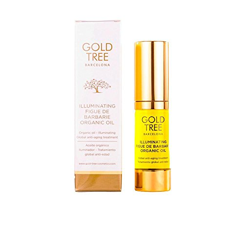 Gold Tree Barcelona Figue de Barbarie Illuminateur de Huile Organique 15 ml