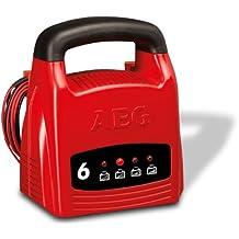 AEG 97001 LK 1206 - Cargador (6 A para baterías de 12 V, con certificación CE; IP 20)
