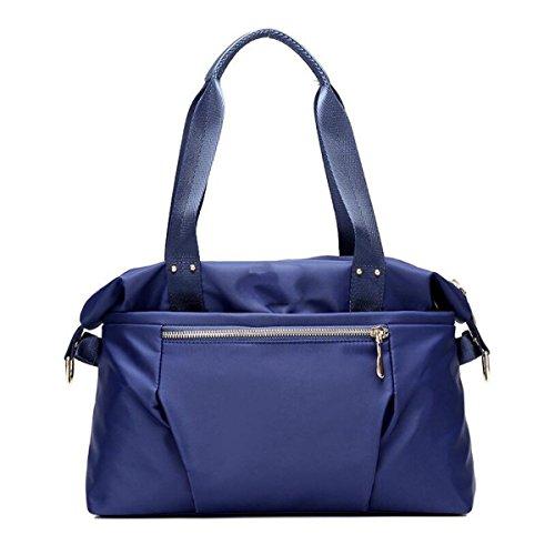 564abc6535aa1 Oxford Borse Di Stoffa Di Moda Selvaggio Signore Sacchetto Di Spalla  Casuale Borsa Di Tela Nylon Impermeabile Blue