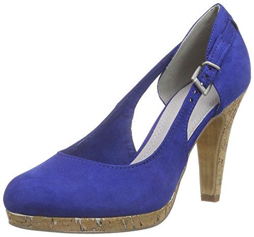 Marco Tozzi 22442 Damen Pumps Blau (ROYAL 838)