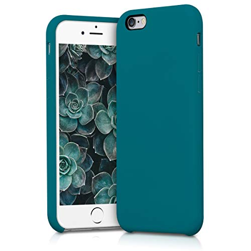 kwmobile Apple iPhone 6 / 6S Hülle - Handyhülle für Apple iPhone 6 / 6S - Handy Case in Petrol matt