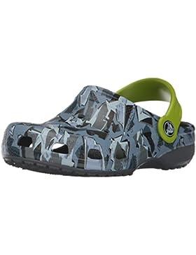 Crocs Classicgrphclgk, Zuecos Unisex Niños