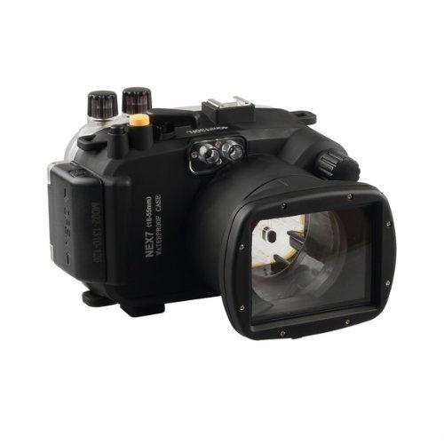 Mcoplus - Unterwasser digitalkamera - Unterwassergehäuse für Sony Kamera NEX7 16-50mm Objektiv bis 40m Wasserdicht leicht bedienbar