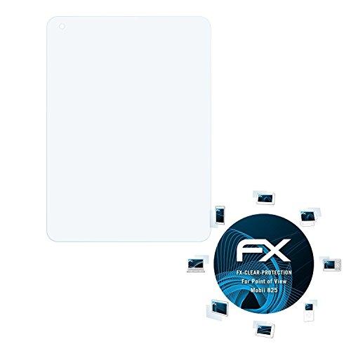 atFolix Schutzfolie kompatibel mit Point of View Mobii 825 Folie, ultraklare FX Bildschirmschutzfolie (2X)