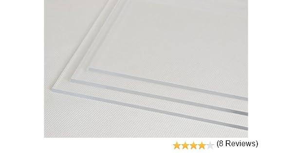 4/mm 2mm thick en acrylique transparent Perspex Feuille de plastique A2/ 600/mm x 420/mm 3/mm /épaisseur 2/mm