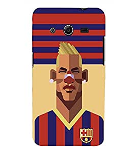 PRINTSWAG PLAYER Designer Back Cover Case for SAMSUNG GALAXY CORE 2 G355H