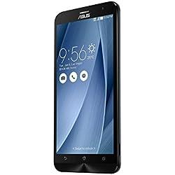 Asus Zenfone 2 ZE551ML smartphone débloqué 4G (Ecran : 5,5 pouces - 64 Go - 4 Go RAM - Double SIM - Android Lollipop 5.0) Argent