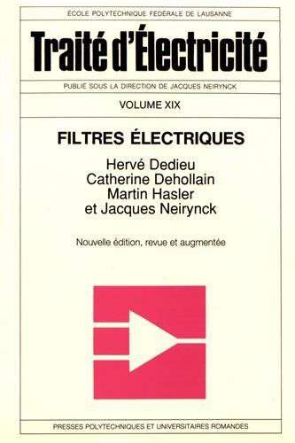 Les Filtres électriques