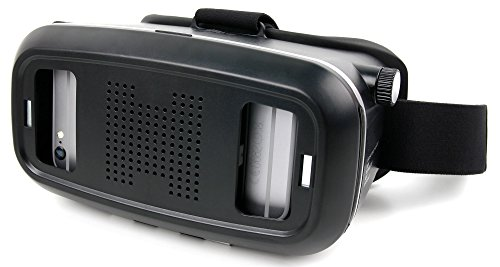 3D Virtual-Reality-Brille (VR) / Video Game Brille von DuraGadget mit Magnet-Verschluß für 2018 Samsung Galaxy A8 | A8+ | A8 Plus Smartphone