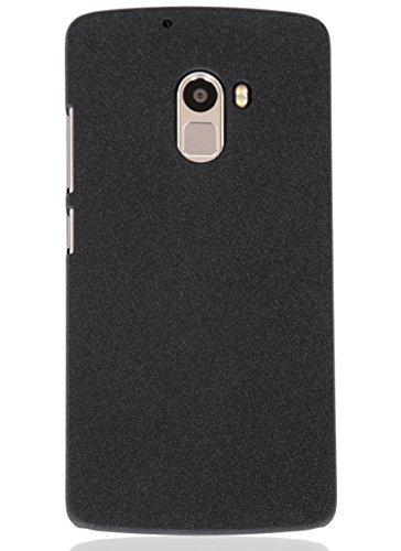 Lenovo K4 Note Back Cover With Bundle Offer (Bonus Matte Screen Guard) By TapFond® - Premium Quality Mobile Phone Accessories, Quicksand Case Slippage Free Design, Elegant, Convenient & Lightweight Case-Scratch Proof-Quicksand Black