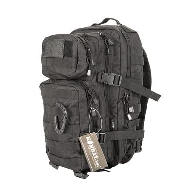 Kombat Unisex Outdoor Molle Backpack available in Black - 28 Litres - hiking-backpacks
