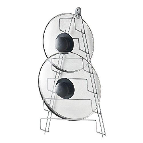Metaltex Mango - Porta coperchi a 6 posti, 7 x 23 x 42 cm - (364006)