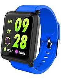 JAYLONG Smart Sport Watch Fitness Tracker Reloj presión Arterial Impermeable IP67 SmartWatch rastreador de Actividad GPS