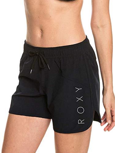 Roxy Damen Chill Love 5 Zoll Boardshorts, True Black M (Marathon Kordelzug)