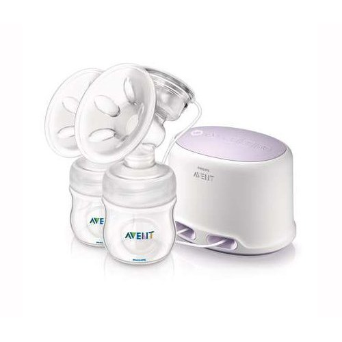 Philips AVENT SCF334/02 Comfort Twin Electric Breast Pump 41ke8S3Or0L