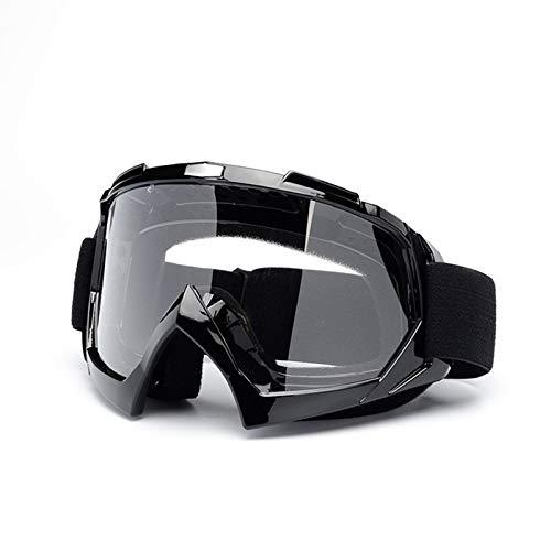 Lafeil Sportsonnenbrille Retro Damen Herren Brille Ritter Ausgestattet Mit Offroad Brille Motorradbrillen Skibrille Style 12