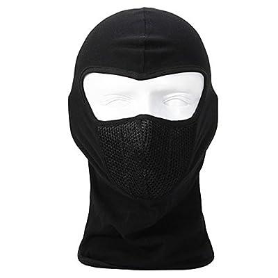 yinyifeide Breathable Men/Women Outdoor Balaclava Headwear Motorcycle Cycling Full Face Mask Helmet Headgear Black by yinyifeide