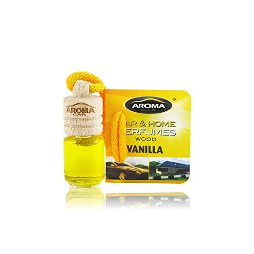 Aroma Car Deodorante, Profumo Mini Bottiglia Legno Senteur Vaniglia Fabbricazione Francais