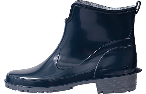 Lemigo Womens Ankle Rubber Wellington Boots Elke 930