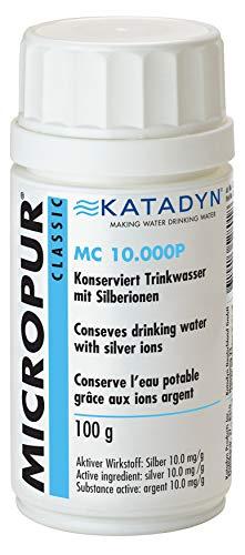 Micropur Classic MC 10\'000P 100g Pulver Wasserentkeimung Trinkwasser