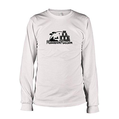 Texlab - Mushroom Castle - Langarm T-Shirt, Herren, Größe XXL, (Prinzessin Peach Mario Kart Kostüm)