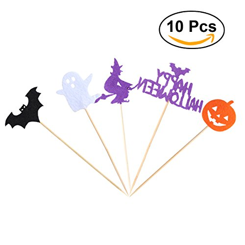 e Toppers Muffin Toppers Kinder Geburtstag Halloween Party Supplies (Vorspeisen Für Eine Halloween-cocktail-party)