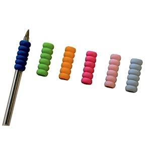Writing Grips For A Pen Or Pencil - Soft Grip - Pack Of 6 Pen Grips - Disability Writing Aid