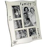 Familie Satin Foto Collage Rahmen